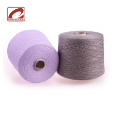 100% baby cashmere yarn with undyed cashmere yarn